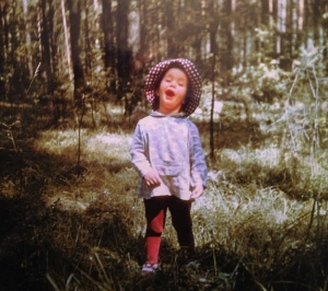 Singing in the woods